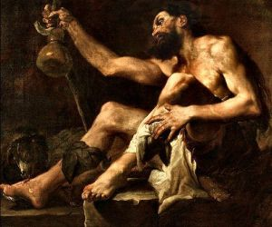 The Dog of Compassion by Paolo Pagani (1655-1716)