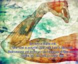 Psalm 89:13-14 Digital Artwork by  Michelle Greene Wheeler
