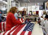Annin Flag Factory in Coshocton, Ohio.