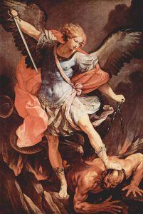 Archangel Michael Guido Reni, circa 1636 Santa Maria della Concezione, Rome