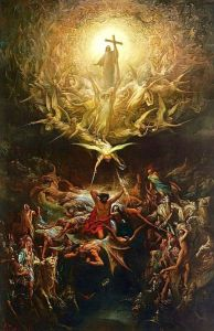 The Triumph Of Christianity Over Paganism Gustave Doré (c 1868) Art Gallery of Hamilton, Ontario.