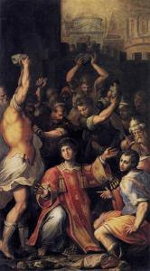 Martyrdom Of St. Stephen Giorgio Vasari, 1560