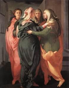 Visitation, 1528-29 San Michele, Carmignano (Florence)