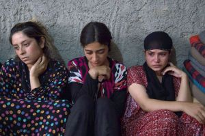 Prisoners: Many Yazidi women have been taken captive by ISIS