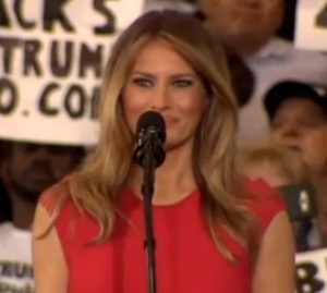 melania-trump-lords-prayer-democrats-attack-florida-rally-933x445