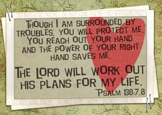 I give my work to you lord